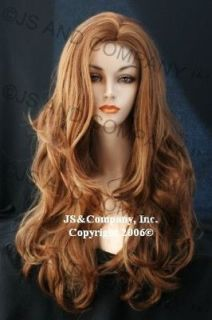 Luscious Extra Long Fully LAYERED Gentle Wavy BLONDE Mix WIG WAAH 27