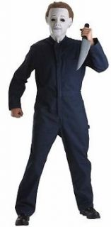 Michael Myers Childs Halloween Holiday Costume Party Medium 7 8 Large
