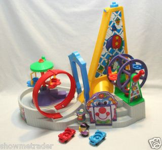 Fisher Price Little People Amusement Fun Park, Pretend Discover and