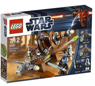 LEGO STAR WARS 9491 GEONOSIAN CANNON BRAND NEW IN BOX 4 MINI FIGS 132