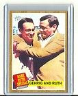 2011 topps heritage 140 babe ruth lou gehrig yankees buy