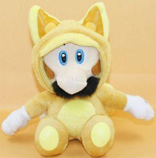 fox kitsune luigi 7 super mario bros plush doll toy