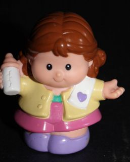 FISHER PRICE LITTLE PEOPLE  Sweet Sounds Doll House Mommy Mother (882