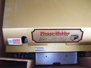 new belsaw powermatic planer molder time left $ 2975 00