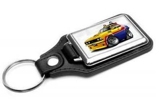 Mad Max MFP Police Interceptor Muscle Car toon Keychain NEW