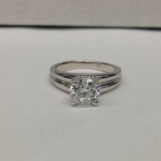 Newly listed 3/4 CARAT SI DIAMOND SOLITAIRE ENGAGEMENT RING 18K WHITE
