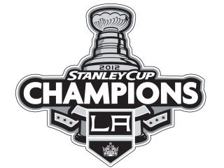 la los angeles kings stanley cup champions decal sticker two