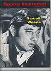 Joe Namath New York Jets 1969 Sports Illustrated Namath Weeps