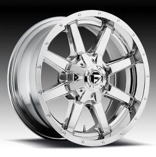 17 inch 17x9 Fuel Maverick chrome wheel rim 6x5.5 4 Runner FJ Cruiser