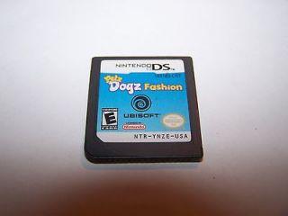Petz Dogz Fashion Pets Dogs (Nintendo DS) Lite DSi XL 3DS Game Only