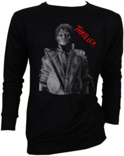 Michael Jackson MJ King of Pop Thriller Beat It Moon Walk Sweater