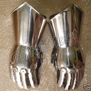 GAUNTLET ARMOR   Medieval Steel Gloves   Medieval KNIGHT COSTUME Armor