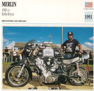 1991 Merlin 4500 cc Rolls Royce Prototypes and Specials United States