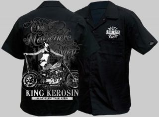 biker work shirts in Clothing,