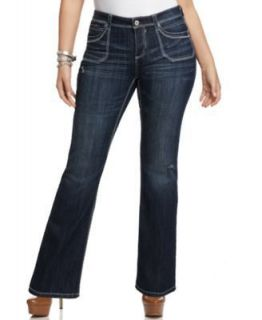 HYDRAULIC Womens Jeans Bailey Slim Boot Color Blue Size 22W
