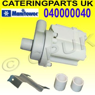 MANITOWOC 040000040 ICE MACHINE WATER PUMP ECS065 ECS080 Icetronic