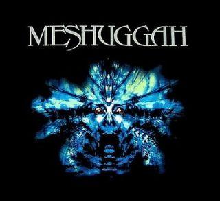 meshuggah cd cvr blue nothing official shirt xl new