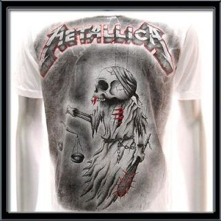 metallica tour shirt in Clothing,