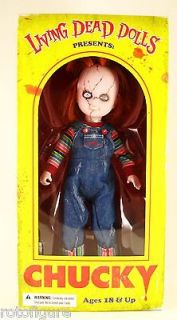 2012 Mezco Living Dead Dolls PresentsChucky 10 Childs Play Figure