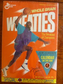 Rare Michael Jordan Unopened Wheaties Box Chicago Bulls HOF L@@K