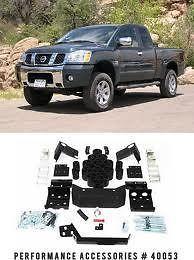 BODY LIFT KIT NISSAN TITAN 04 09 2WD 4WD 5.6L V8 (Fits Nissan Titan