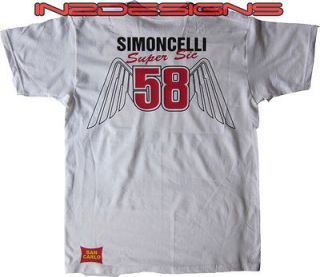 marco simoncelli t shirt in Clothing,