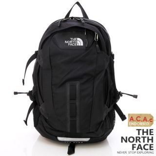 bn the north face hot shot laptop backpack black from