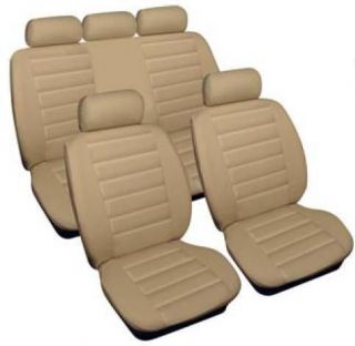 MERCEDES BENZ C E CLASS Universal Leatherlook Car Seat Covers Full