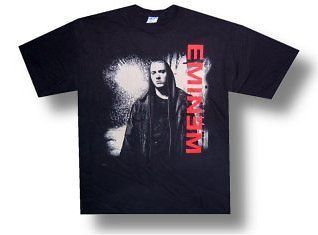 EMINEM   BLACK RAIN MARSHALL MATHERS RAP T SHIRT   NEW ADULT X LARGE