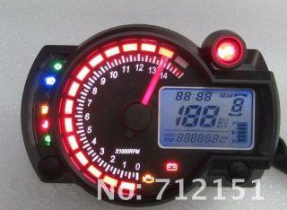 2012 Mini Motorcycle motor bike LCD digital speedometer odometer