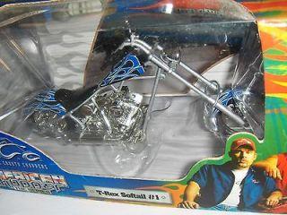Toy 118 Orange County Chopper T   Rex Softail # 1 Bike