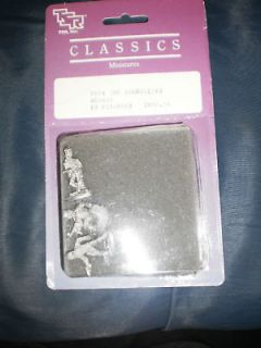newly listed tsr classic miniatures 3 metal top secret agents