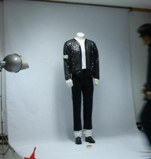 Michael Jackson Billie Jean Jacket & pant & glove & socks