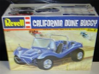 Model Kit FACTORY SEALED REVELL 85 2366 CALIFORNIA DUNE BUGGY 1/25