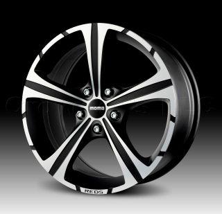 MOMO Car Wheel Rim Black Knight 16 x 7 inch 5 on 114.3 mm   Part