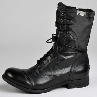Bunker for JUMP Womens Vintage Military/Motorcycle Style Boots sz 11
