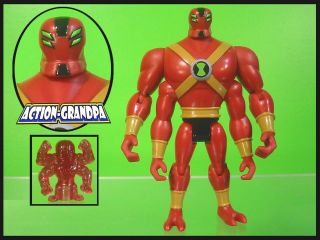 10 Ultimate Four Arms Fourarms V.2 V2 4 Alien Force Action Figure