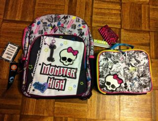 monster high lunch bag in Clothing,
