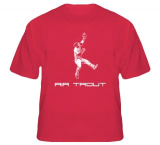 mike trout air trout baseball t shirt more options size