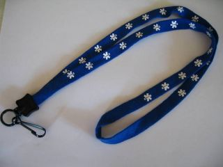 ems paramedic star of life lanyard neck strap id holder