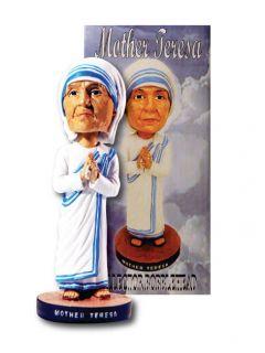 Mother Teresa of Calcutta India Catholic Religious Peace Bobblehead