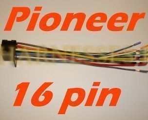 pioneer deh wiring harness in vehicle electronics & gps · pioneer deh wire  harness in vehicle electronics & gps