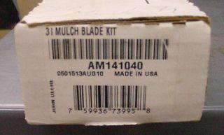 JOHN DEERE Mulch Blade Kit AM141040 for 38 mower decks