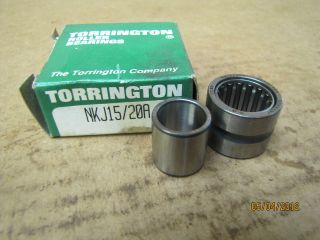 Torrington Needle Roller Bearing W/ Inner Ring NKJ15/20A NKJ1520A