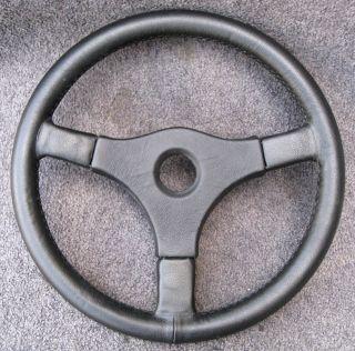 E9 2002 E21 Porsche Alfa Vintage MOMO Leather Steering Wheel NEW WRAP