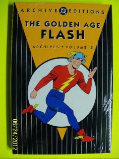 THE GOLDEN AGE FLASH DC Archives HARDCOVER SALE Volume 2 FREE SHIPPING
