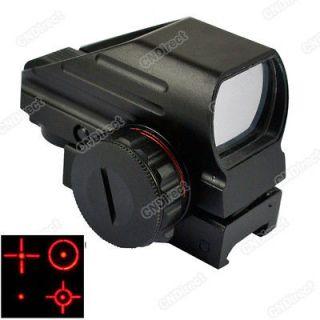 Airgun Dot Red+Green Point Laser Sight Tactical Reflex Air Rifle