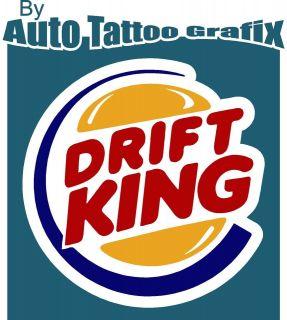 JDM DRIFT KING Decal Sticker Nissan JDM RARE Drift JDM Magazine Engine