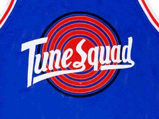 BUGS BUNNY TUNE SQUAD SPACE JAM JERSEY BLUE NEW   ANY SIZE