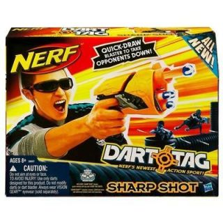 new hasbro nerf n strike dart tag sharp shot rifle
